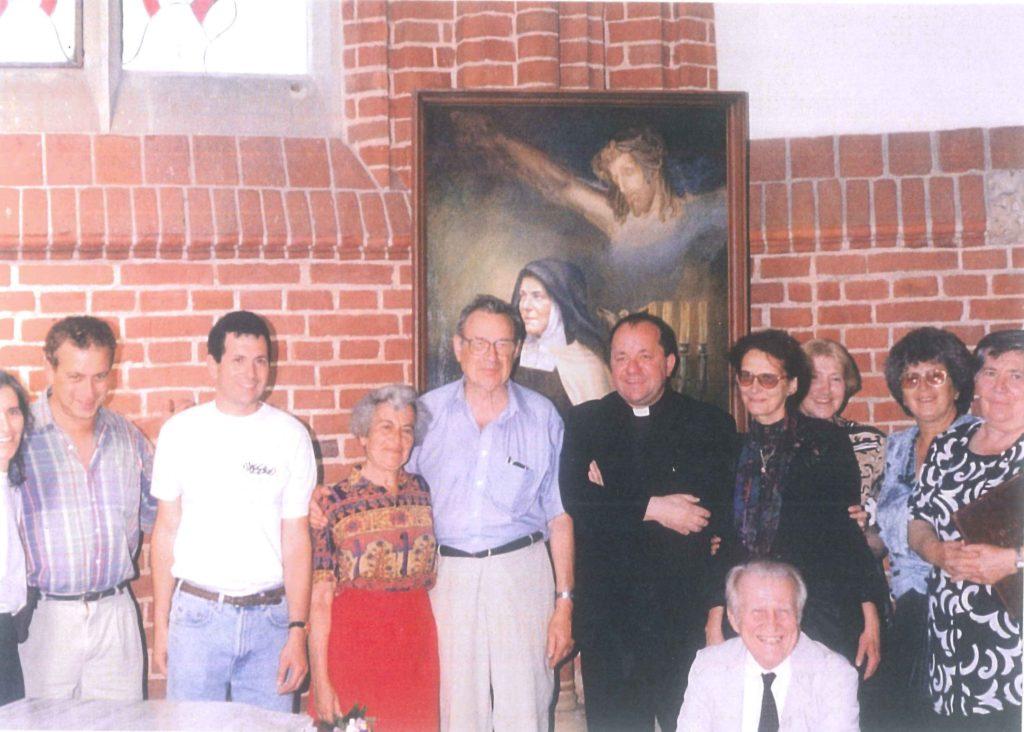 Wizyta Susanne Batzdorff weWrocławiu wczerwcu 1995 roku