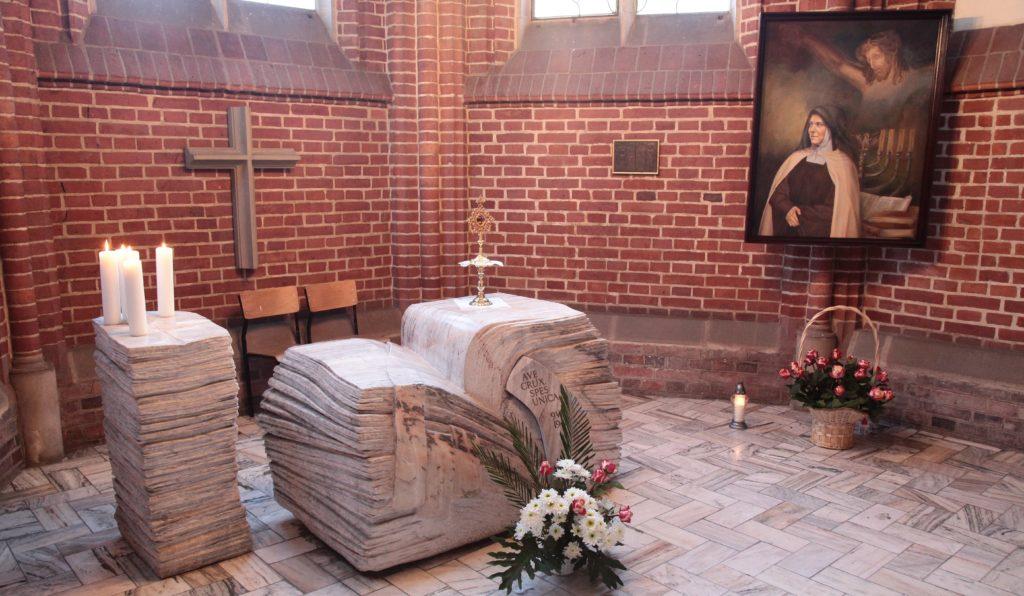 Historia obrazu św.Teresy Benedykty odKrzyża wkaplicy kościoła pw.Michała Archanioła weWrocławiu