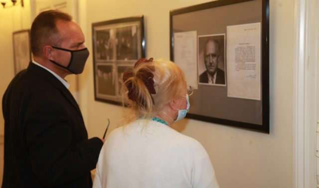 "Opening of the exhibition ""Roman Ingarden. Photographs and documents from the family archive."""