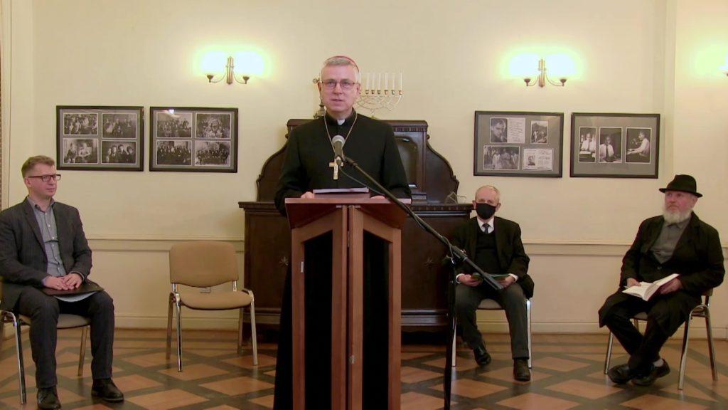 Relacja zXXIV Dnia Judaizmu wKościele katolickim weWrocławiu (online zDomu Edyty Stein)