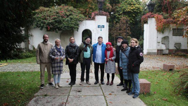 Zwiedzanie Wrocławia zpotomkami rodziny Steinów