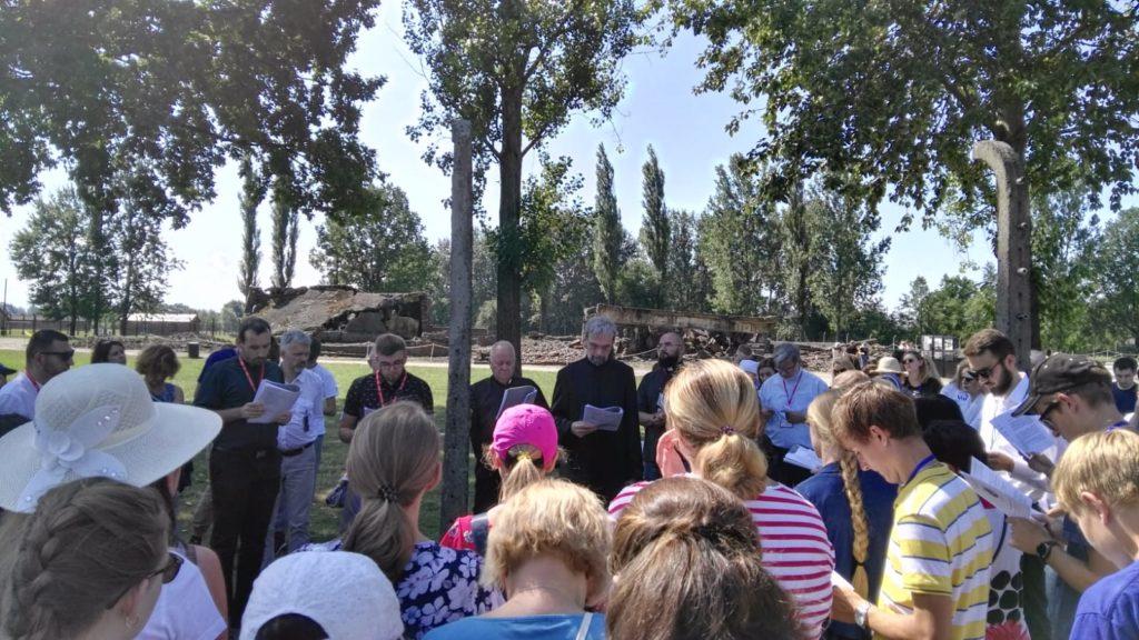 Wspólna modlitwa wAuschwitz-Birkenau – 77. rocznica śmierci Edyty Stein