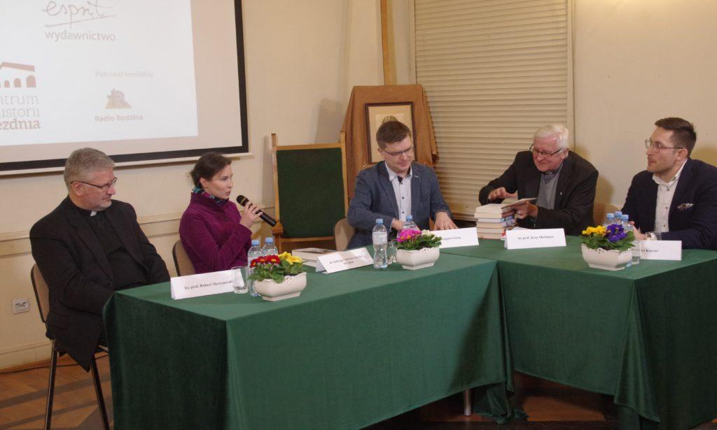 """Spotkanie promocyjne książki Alasdaira MacIntyre pt.""""Edyta Stein. Prolog filozoficzny 1913-1922"""""""