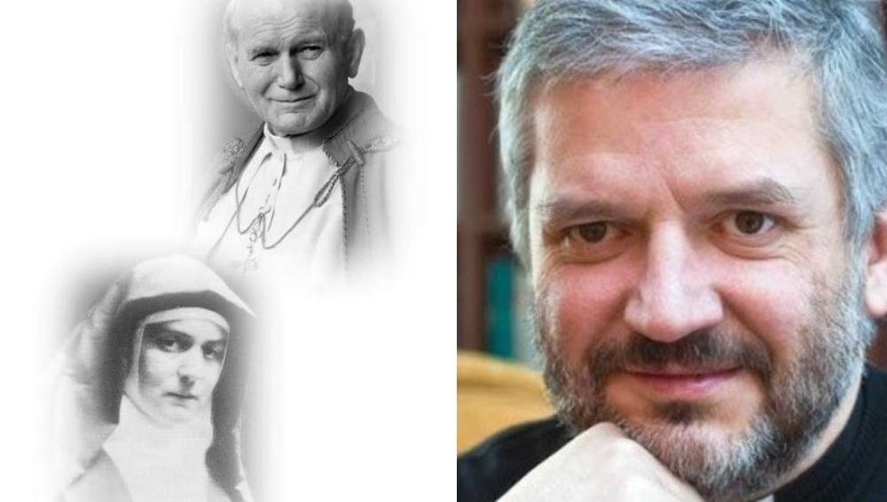 """""""Dzięki zaserce Twe.."""" – Rozmowa zks.prof.Robertem Skrzypczakiem w15. Rocznicę śmierci św.Jana Pawła II"""