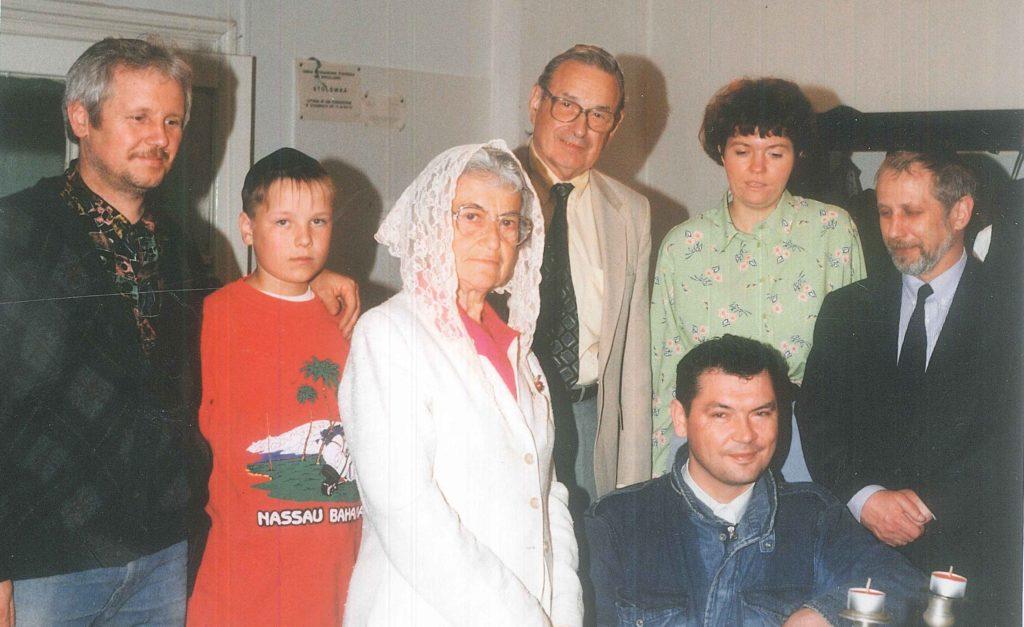 Wizyta Susanne Batzdorff weWrocławiu wczerwcu 1997 roku