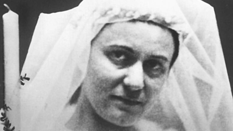 Obłóczyny s. Teresy Benedykty odKrzyża (15 kwietnia 1934)